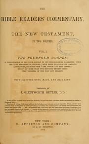 Cover of: The Bible readers' commentary | James Glentworth Butler