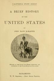 Cover of: A brief history of the United States