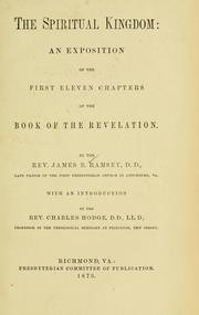 Cover of: The spiritual kingdom by James B. Ramsey