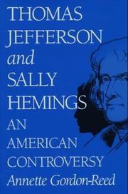 Cover of: Thomas Jefferson and Sally Hemings