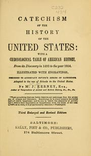 Cover of: Catechism of the history of the United States by Martin Joseph Kerney