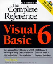 Cover of: Visual Basic 6