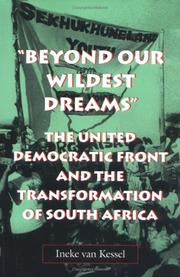 Cover of: Beyond our wildest dreams