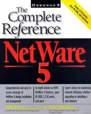 Cover of: The complete reference to NetWare 5 | Payne, William H.
