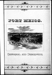 Cover of: Fort Meigs