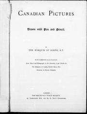 Cover of: Canadian pictures: drawn with pen and pencil