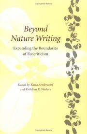 Cover of: Beyond Nature Writing: Expanding the Boundaries of Ecocriticism (Under the Sign of Nature: Explorations in Ecocriticism) |
