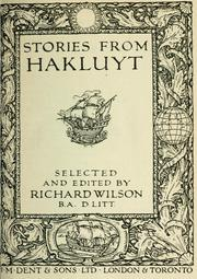 Cover of: Stories from Hakluyt