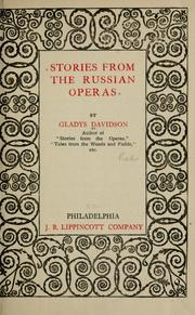 Cover of: Stories from the Russian operas