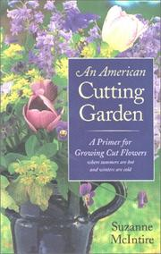 Cover of: An American Cutting Garden | Suzanne McIntire
