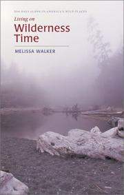 Cover of: Living on Wilderness Time | Melissa Walker