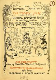 Cover of: The surprising adventures of Sir Toady Lion: with those of General Napoleon Smith