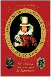 Cover of: Pocahontas, Powhatan, Opechancanough | Helen C. Rountree