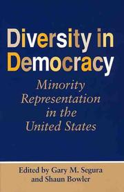 Cover of: Diversity In Democracy |