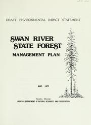Cover of: Swan River State forest management plan | Montana. Forestry Division.
