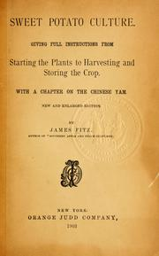 Sweet potato culture by James Fitz