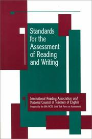 Cover of: Standards for the Assessment of Reading and Writing | International Reading Association.