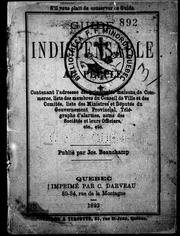 Cover of: Guide indispensable au peuple | Joseph Beauchamp