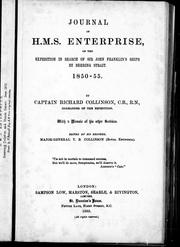 Cover of: Journal of H.M.S. Enterprise