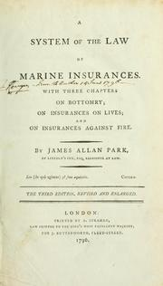 system of the law of marine insurances