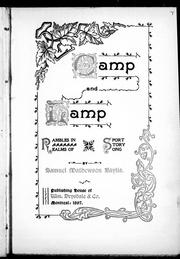 Cover of: Camp and lamp |