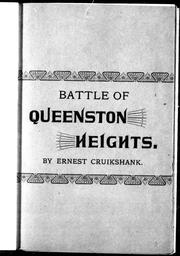 Cover of: Queenston Heights |