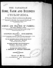 Cover of: The Canadian home, farm and business cyclopaedia |