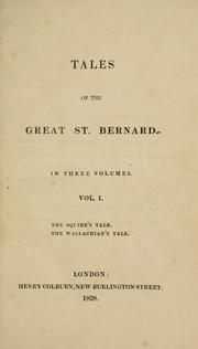 Cover of: Tales of the Great St. Bernard