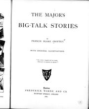 Cover of: The major