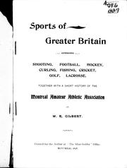 Cover of: Sports of Greater Britain |