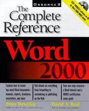 Cover of: Word 2000