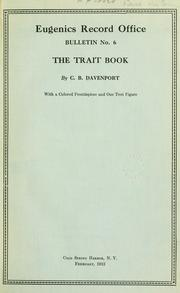 Cover of: The trait book