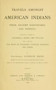Cover of: Travels amongst American Indians