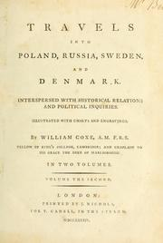 Cover of: Travels into Poland, Russia, Sweden and Denmark