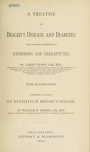 Cover of: A treatise on Bright's disease and diabetes