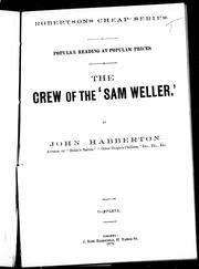 "Cover of: The crew of the ""Sam Weller"""