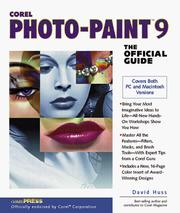 Cover of: Corel PHOTO-PAINT 9