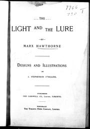Cover of: The light and the lure |