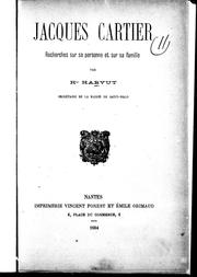 Cover of: Jacques Cartier