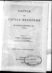 Cover of: Cattle and cattle-breeders |
