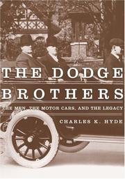 Cover of: The Dodge Brothers