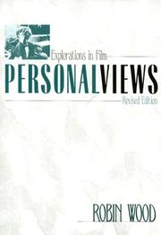 Cover of: Personalviews | Robin Wood
