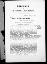 Cover of: Inverness railway, Cape Breton |