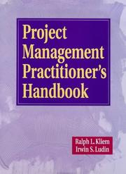 Cover of: Project management practitioner's handbook