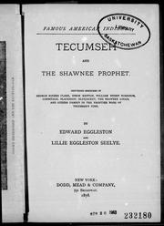 Cover of: Tecumseh and the Shawnee prophet |