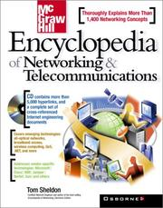 Cover of: McGraw-Hill encyclopedia of networking & telecommunications | Thomas Sheldon