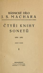 Cover of: tyi knihy sonet, 1890-1892