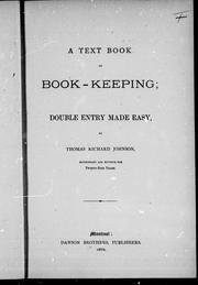 Cover of: A text book on book-keeping