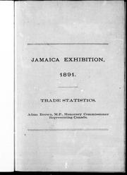 Cover of: Jamaica Exhibition, 1891