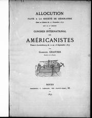 Cover of: Allocution